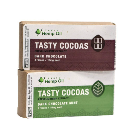 Tasty Cocoas, Tasty Hemp Oil