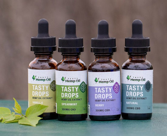 Tasty Drops Tasty Hemp Oil