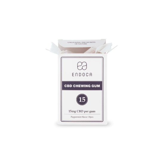 CBD Chewing Gum by Endoca, 150mg