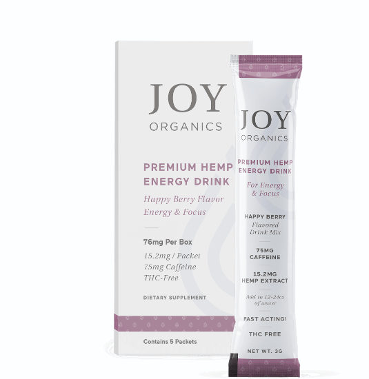 CBD Energy Drink Mix by Joy Organics