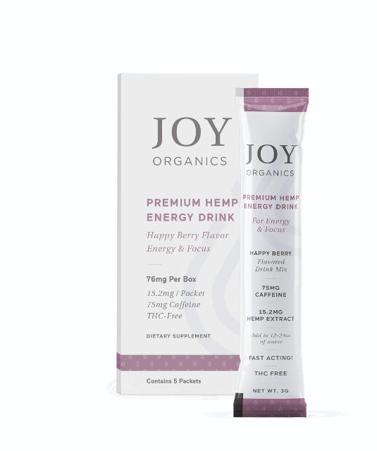 CBD Energy Drink Mix by Joy Organics