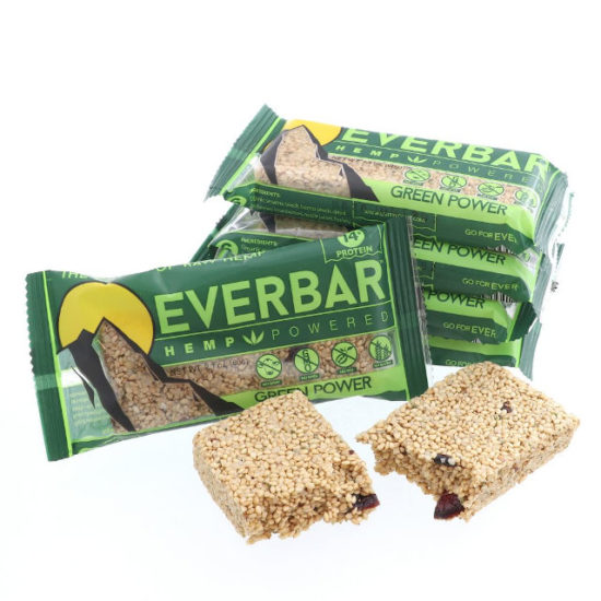 CBD Ever Hemp Bar by Livity Foods, 25mg