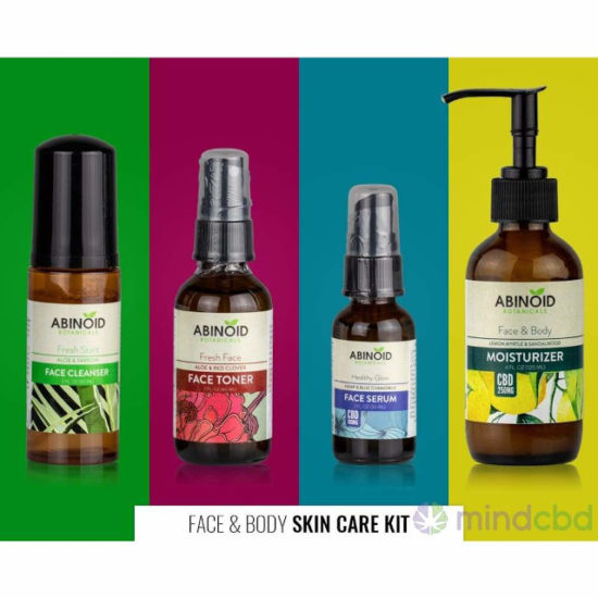 A set of Face Care Kit by Abinoid Botanicals