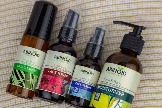 CBD Face Care Kit by Abinoid Botanicals