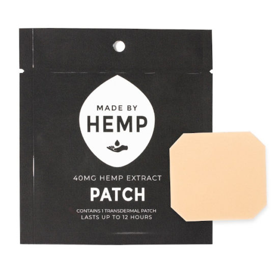 CBD Hemp Patch by Made by Hemp, front