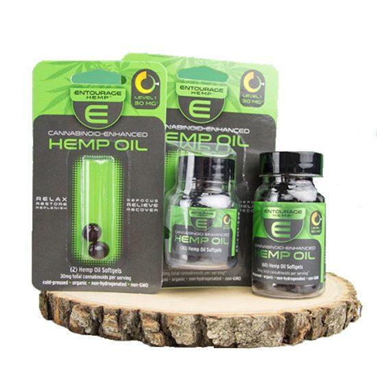 CBD Oil Softgels by Entourage Hemp