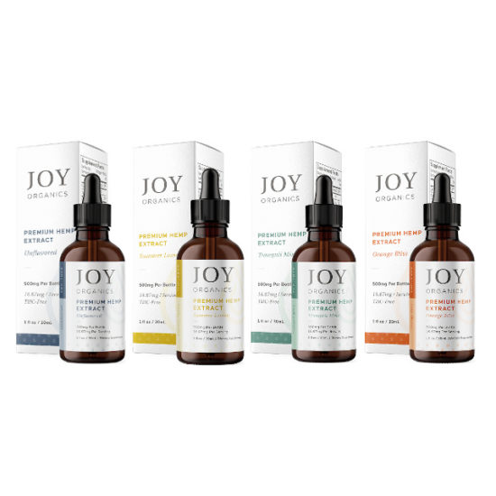 CBD Oil Tinctures by Joy Organics