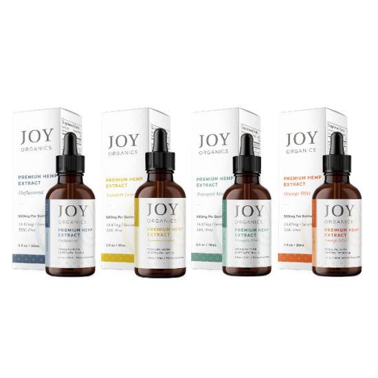 CBD Oil Tinctures by Joy Organics