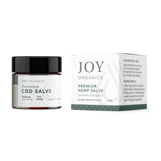 CBD Salve by Joy Organics