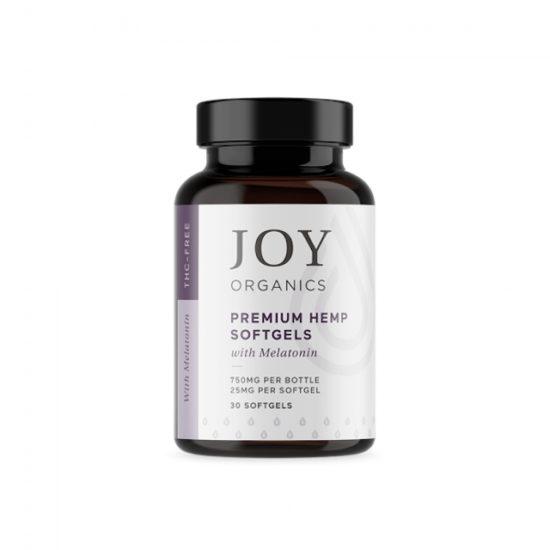 CBD Softgels with Melatonin by Joy Organics