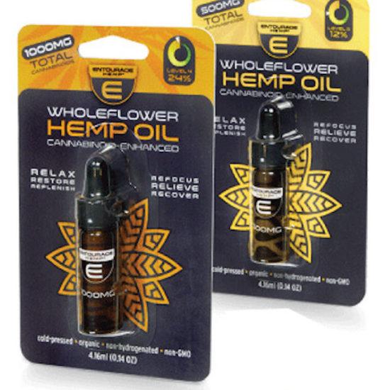 Wholeflower CBD Oil by Entourage Hemp