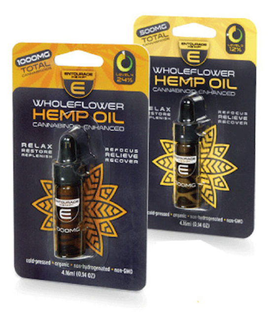 Wholeflower CBD Oil by Entourage Hemp